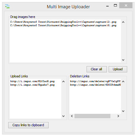 Multi Image Uploader